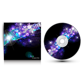 CD or DVD - Paper Parts