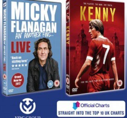 Two titles in UK Top Ten