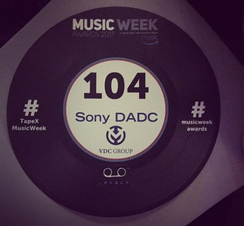 Music Week Awards – VDC & Sony DADC